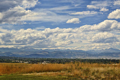 Photograph - Front Range Colorado Rocky Mountains by Ann Powell