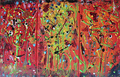 Wall Art - Painting - Warm October Day by Pam Roth O'Mara