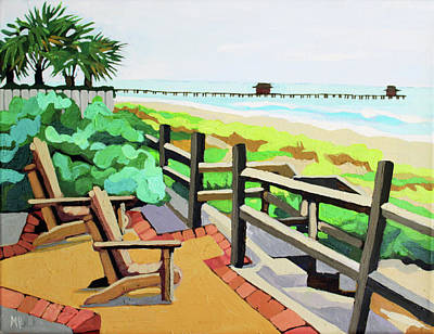 Painting - Front Row Seats by Melinda Patrick