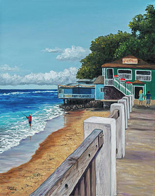 Painting - Front Street Lahaina by Darice Machel McGuire