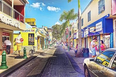 Front Street Original by Arnie Goldstein