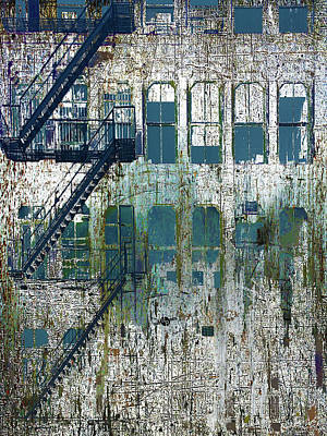 Old Door Mixed Media - Front by Tony Rubino