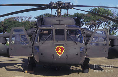 Front View Of An Army Hh-60 Pave Hawk Art Print