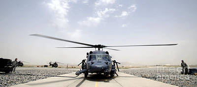 Afghanistan Photograph - Front View Of An Hh-60 Pave Hawk by Stocktrek Images