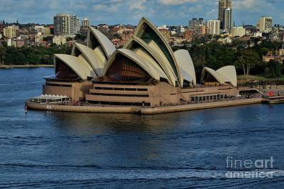 Photograph - Front View-opera House by Diana Mary Sharpton