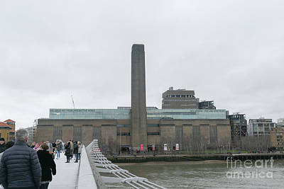 Photograph - Frontal View Of Tate Modern Gallery In London by Patricia Hofmeester