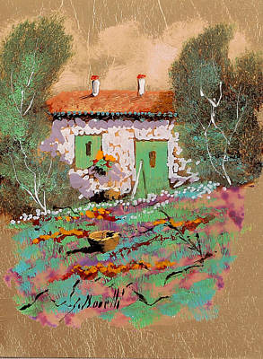 Frontale Art Print by Guido Borelli