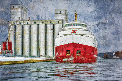 Photograph - Frontenac Docked by Irwin Seidman