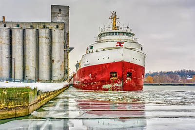 Photograph - Frontenac Docking by Irwin Seidman