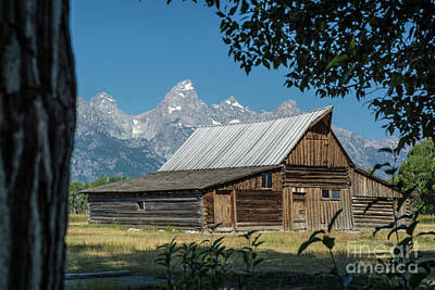 Photograph - Frontier Barn by Tim Mulina