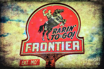 Photograph - Frontier Gas by Lynn Sprowl