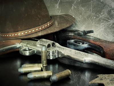 Frontier Lawman Guns Art Print