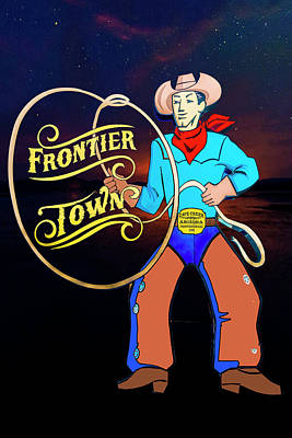 Photograph - Frontier Town by Paul Wear