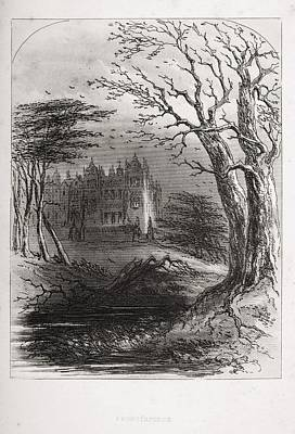 Frontispiece From The Book Bleak House Art Print by Vintage Design Pics