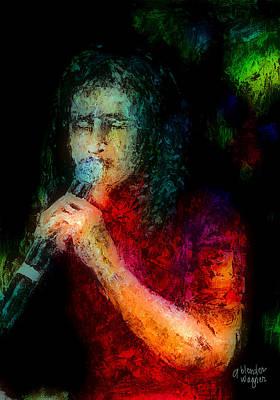 Frontman Print by Arline Wagner