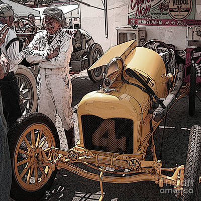Fronty Ford 1915 Art Print by Curt Johnson