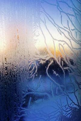 Photograph - Frost At Minus 22 Sunrise by Brian Sereda