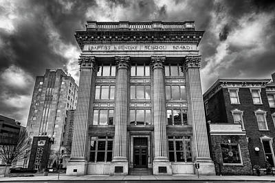 Downtown Nashville Photograph - Frost Building - Lifeway Christian Resources by Stephen Stookey