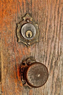 Frost Chapel Door Knob Original