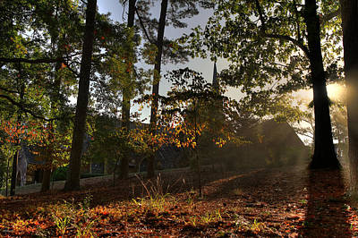 Frost Chapel Morning Sun Original