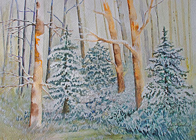 Painting - Winter Frost by Joanne Smoley