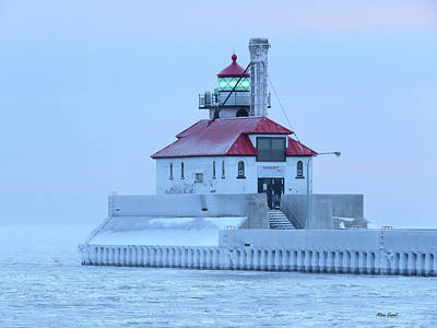 Duluth Photograph - Frosted by Alison Gimpel