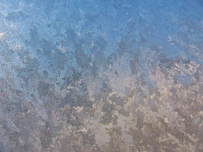 Photograph - Frosted Windowpane by Lori Kingston