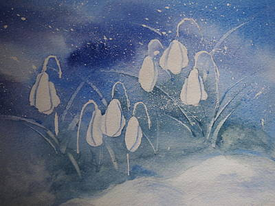Painting - Frosty Bells by Rod Stewart