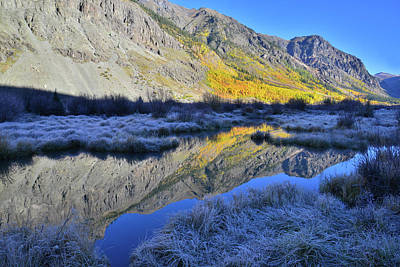 Modern Kitchen - Frosty Fall Morning along Alpine Loop by Ray Mathis