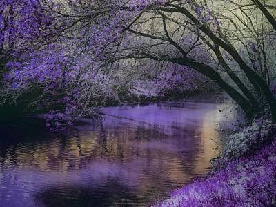 Photograph - Frosty Lilac Wilderness by Michele Carter