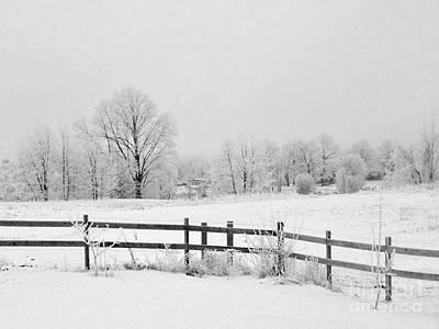 Photograph - Frosty Morning by Jenness Asby