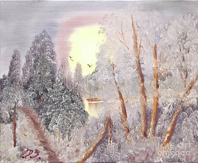 Painting - Frosty Morning by Joseph Summa