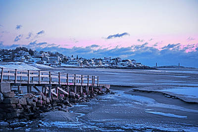Photograph - Frosty Morning On Good Harbor Beach Gloucester Ma by Toby McGuire