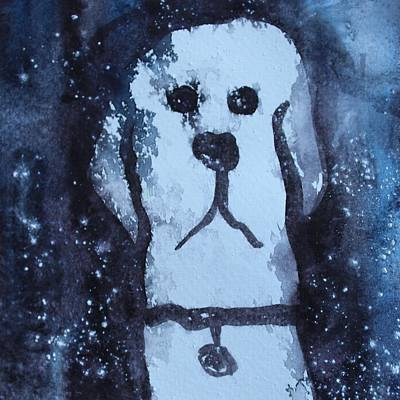Painting - Frosty Paws by Modern Art