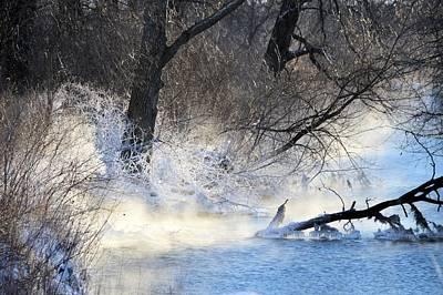 Photograph - Frosty Stream by Bonfire Photography