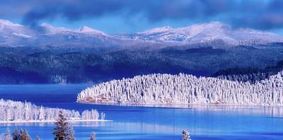 Photograph - Frosty Winter Wonderland - Canada by Brigitte Werner