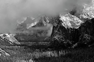 Photograph - Frosty Yosemite Day by Eric Tressler
