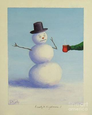 Painting - Frosty's Nightmare I by Phyllis Andrews