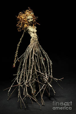 Tendrils Mixed Media - Frou Frou's Dance by Adam Long