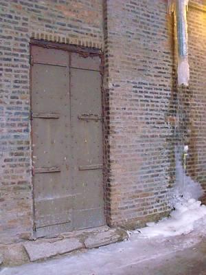 Frozen Alley II Art Print by Anna Villarreal Garbis