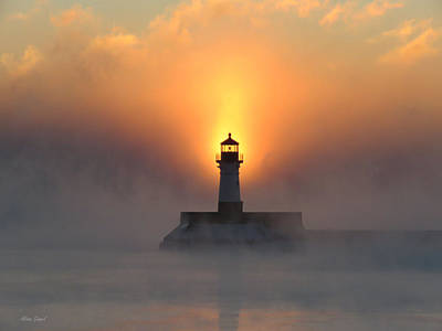 Duluth Photograph - Sunrise At 18 Below by Alison Gimpel