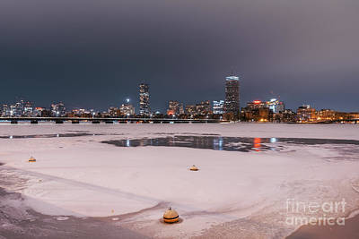 Just Desserts - Frozen Charles River by Isaac S