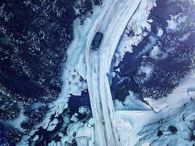 Photograph - Frozen by Chris M