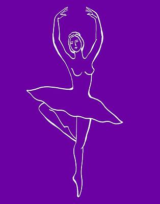 Royalty-Free and Rights-Managed Images - Frozen Dance Ballerina by Irina Sztukowski