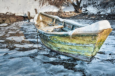 Photograph - Frozen Dory by Thomas Gaitley