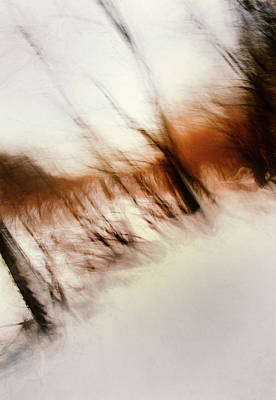 Abstract Expressionism - Frozen Dreams by Scott Norris