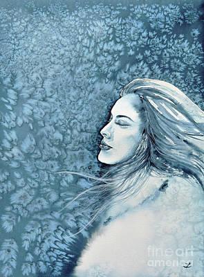 Painting - Frozen Dreams by Zaira Dzhaubaeva