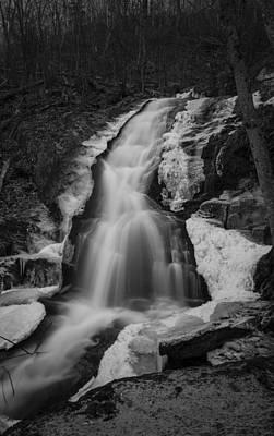 Photograph - Frozen Falls by Amber Kresge