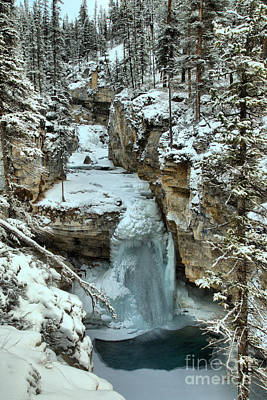 Photograph - Frozen Falls At Beauty Creek by Adam Jewell