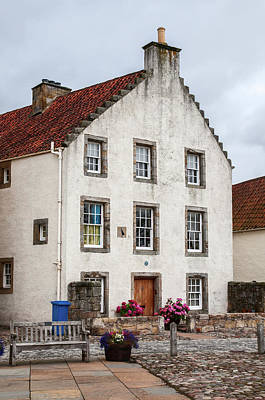 Photograph - Frozen In Time 1. Culross Sketches. Scotland by Jenny Rainbow